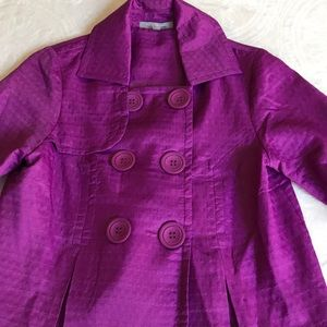 Stylish fuchsia jacket size PM by ny collection